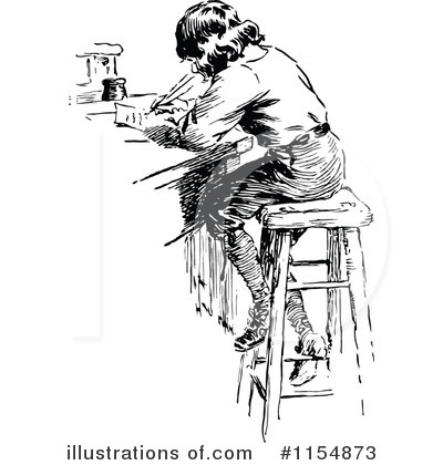 Writing Clipart #1154873 by Prawny Vintage