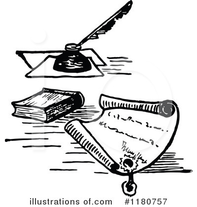 Writing Clipart #1180757 by Prawny Vintage