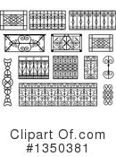 Royalty-Free (RF) Wrought Iron Clipart Illustration #1350381