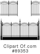 Royalty-Free (RF) Wrought Iron Clipart Illustration #89353