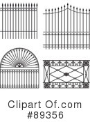 Royalty-Free (RF) Wrought Iron Clipart Illustration #89356