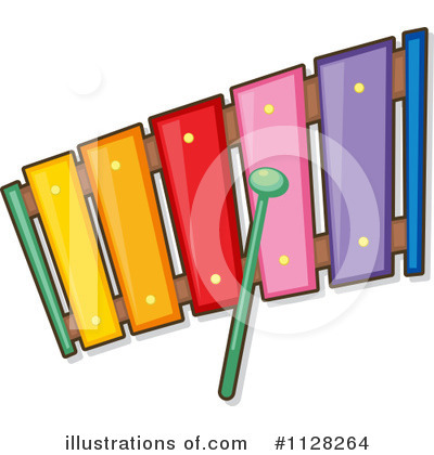 Xylophone Clipart #1128264 by Graphics RF