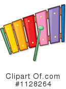 Royalty-Free (RF) Xylophone Clipart Illustration #1128264