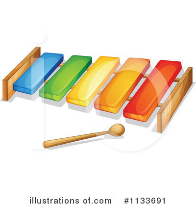 Xylophone Clipart #1133691 by Graphics RF