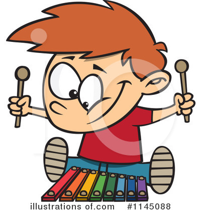 Xylophone Clipart #1145088 by toonaday