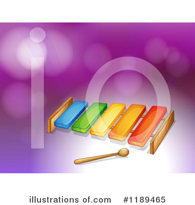Xylophone Clipart #1189465 by Graphics RF