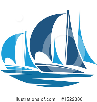 Sailboat Clipart #1522380 by Vector Tradition SM