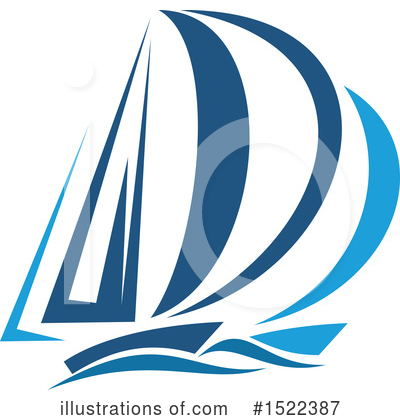 Sailboat Clipart #1522387 by Vector Tradition SM