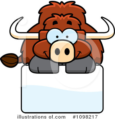 Bull Clipart #1098217 by Cory Thoman