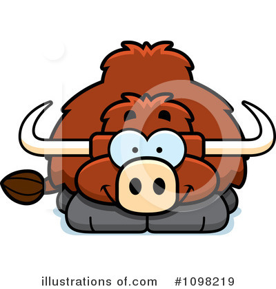 Bull Clipart #1098219 by Cory Thoman