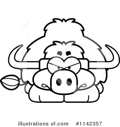 Yak Clipart #1142357 - Illustration by Cory Thoman
