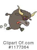 Yak Clipart #1177364 by toonaday