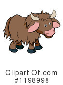 Yak Clipart #1198998 by AtStockIllustration