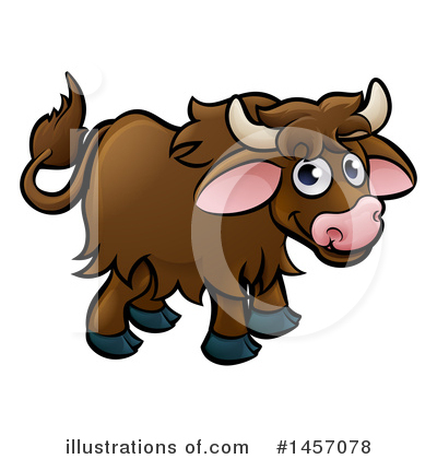Yak Clipart #224418 - Illustration by Maria Bell