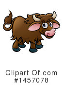 Yak Clipart #1457078 by AtStockIllustration