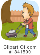 Yard Work Clipart #1341500 by BNP Design Studio