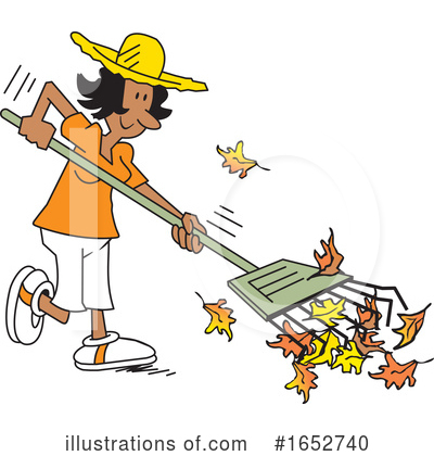 Royalty-Free (RF) Yard Work Clipart Illustration by Johnny Sajem - Stock Sample #1652740