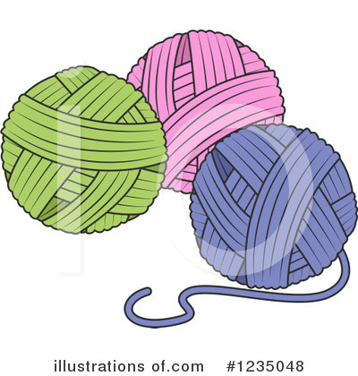 Knitting Clipart #1235048 by BNP Design Studio
