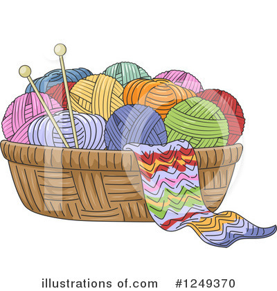Knitting Clipart #1249370 by BNP Design Studio