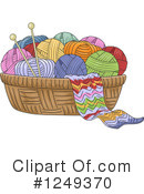 Yarn Clipart #1249370 by BNP Design Studio