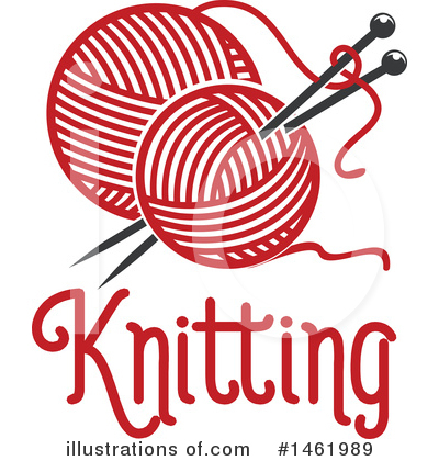 Knitting Clipart #1461989 by Vector Tradition SM