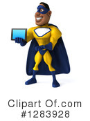 Yellow And Blue Super Hero Clipart #1283928 by Julos