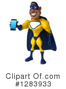 Yellow And Blue Super Hero Clipart #1283933 by Julos