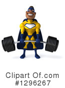 Yellow And Blue Super Hero Clipart #1296267 by Julos