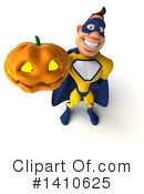 Yellow And Blue Super Hero Clipart #1410625 by Julos