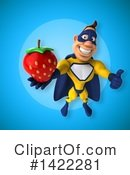 Yellow And Blue Super Hero Clipart #1422281 by Julos