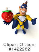 Yellow And Blue Super Hero Clipart #1422282 by Julos