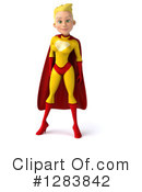 Yellow And Red Super Hero Clipart #1283842 by Julos