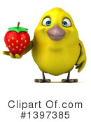 Yellow Bird Clipart #1397385 by Julos