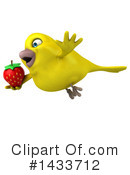 Yellow Bird Clipart #1433712 by Julos