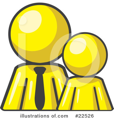 Royalty-Free (RF) Yellow Collection Clipart Illustration by Leo Blanchette - Stock Sample #22526