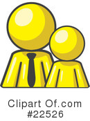 Royalty-Free (RF) yellow collection Clipart Illustration #22526