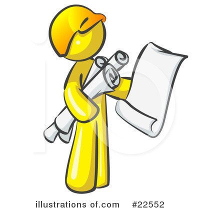 Contractor Clipart #22552 by Leo Blanchette