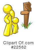 Royalty-Free (RF) yellow collection Clipart Illustration #22562