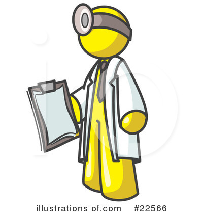 Royalty-Free (RF) Yellow Collection Clipart Illustration by Leo Blanchette - Stock Sample #22566