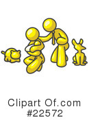 Royalty-Free (RF) Yellow Collection Clipart Illustration #22572