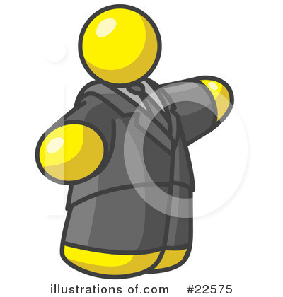 Royalty-Free (RF) Yellow Collection Clipart Illustration by Leo Blanchette - Stock Sample #22575