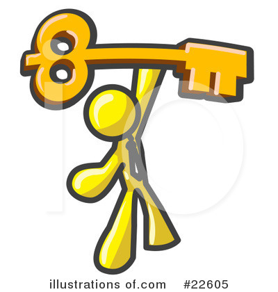 Skeleton Key Clipart #22605 by Leo Blanchette