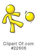 Royalty-Free (RF) Yellow Collection Clipart Illustration #22606