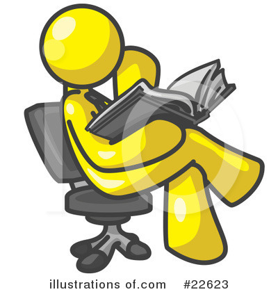 Royalty-Free (RF) Yellow Collection Clipart Illustration by Leo Blanchette - Stock Sample #22623