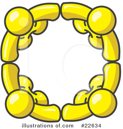 Royalty-Free (RF) Yellow Collection Clipart Illustration by Leo Blanchette - Stock Sample #22634
