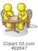 Royalty-Free (RF) Yellow Collection Clipart Illustration #22647