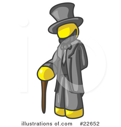 Abraham Lincoln Clipart #22652 by Leo Blanchette