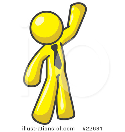 Royalty-Free (RF) Yellow Collection Clipart Illustration by Leo Blanchette - Stock Sample #22681