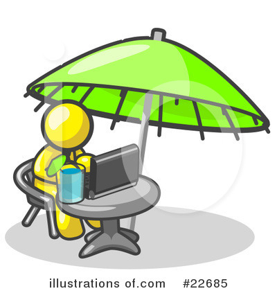 Vacation Clipart #22685 by Leo Blanchette