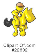 Royalty-Free (RF) Yellow Collection Clipart Illustration #22692